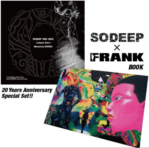 """""""FRANK"""" × """"SODEEP"""" Book&MixCD Special Set!!!!!!!"""
