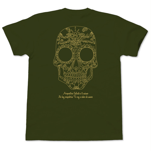 Calavera Is Not Dead army green