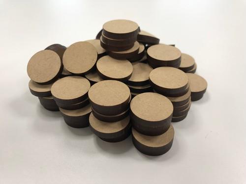 木材チップ 円 100個入り