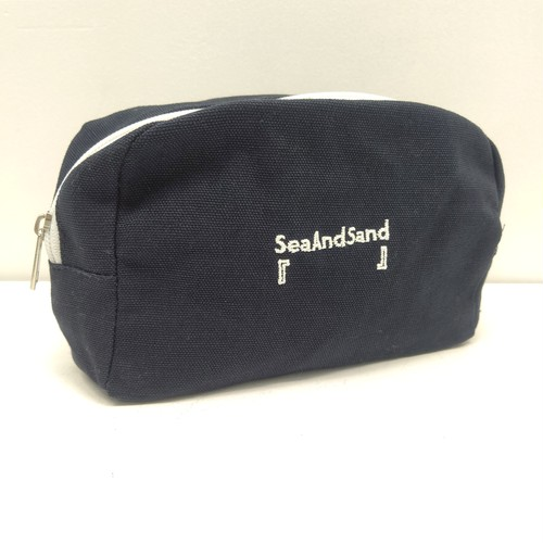 """DAR Canvas Pouch """"Sea And Sand""""「   」〜みんな何かに狂ってる~"""