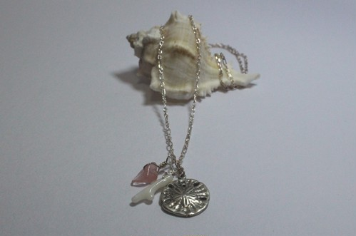 Sea Urchin Shell type Necklace