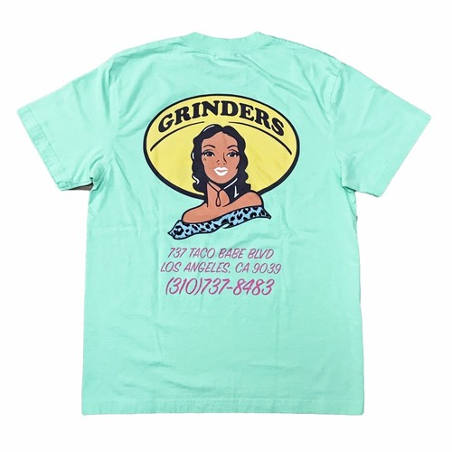 GRINDERS Taco Babe Tee (Mint)