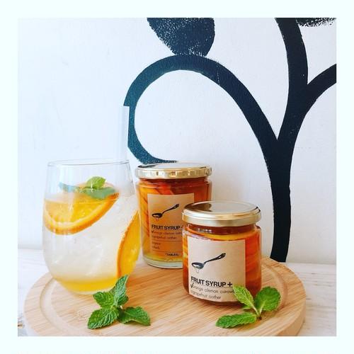 フルーツシロップ 大瓶 オレンジ