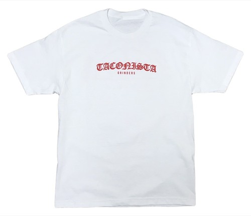 GRINDERS Taconista Tee (White)