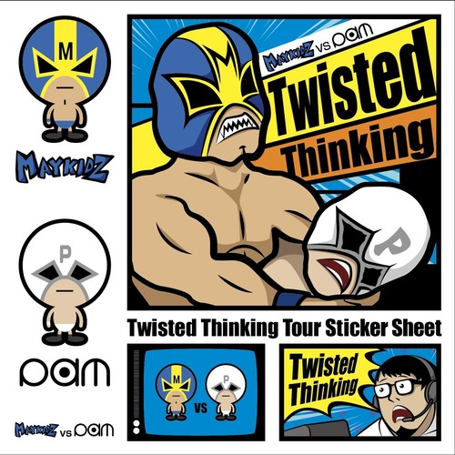 Twisted Thinking Tour! ステッカー