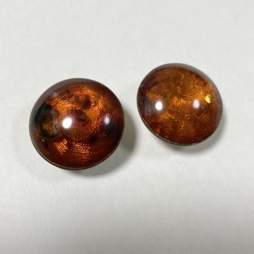 Vintage Baltic Amber 925 Silver  Earrings
