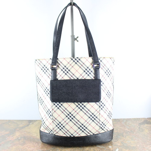 .BURBERRY CHECK PATTERNED TOTE BAG/バーバリーチェック柄トートバッグ 2000000047829
