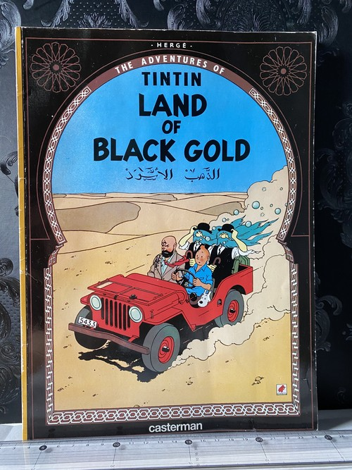 70's洋書 THE ADVENTURES OF TINTIN