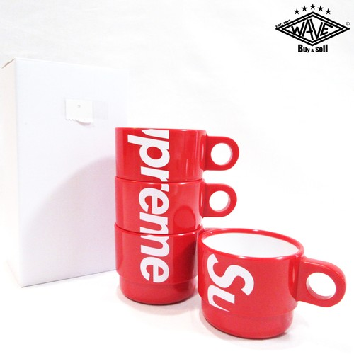 SUPREME 18SS Stacking Cups (Set of 4) マグカップセット