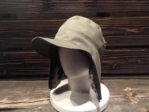 Green Clothing  BOA PATCHWORK CAP  Olive Nylon
