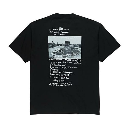 POLAR SKATE CO. Strongest Notes Tee BLACK  ポーラー Tシャツ