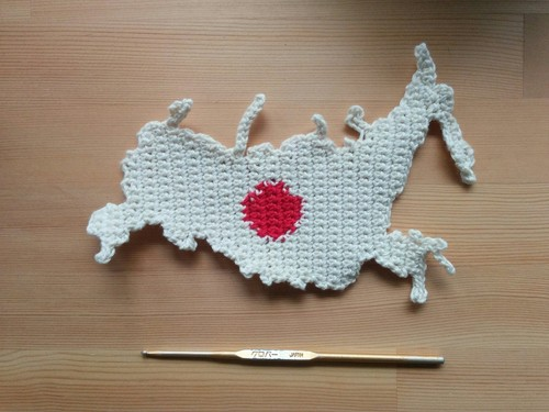 Knitting Pattern Russia. Let's cheer while crocheting!