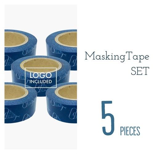 【5巻セット】ロゴマスキングテープ