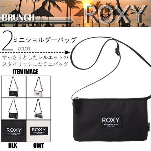 RBG211314 ロキシー 新作 ミニバッグ ショルダーバッグ レディース 通販 人気 ブランド 可愛い 旅行 黒 白系 ロゴ 小さめ BRUNCH ROXY
