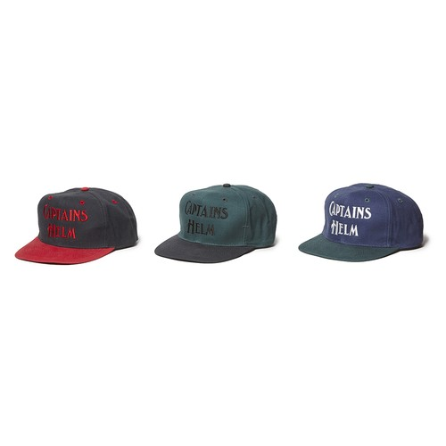 CAPTAINS HELM #Logo 2tone Baseball Cap