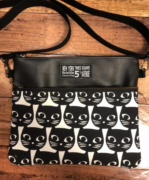 黒猫サコッシュ No.1