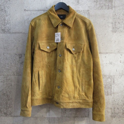 RAGS McGREGOR 17AW 3rd TRUCKER LEATHER JACKET