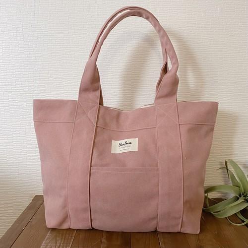 Tote bag L - Vintage pink