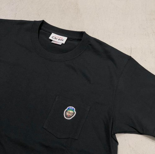 chi-bee - one point Pocket Tシャツ / ブラック