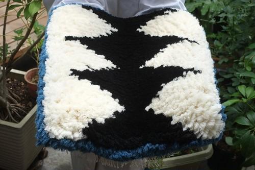 ◆【ノッティング・手織りの椅子敷き】◆(大) ◆NEW! #20210601