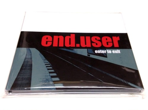 [USED] end.user - Enter To Exit (2016) [CD]