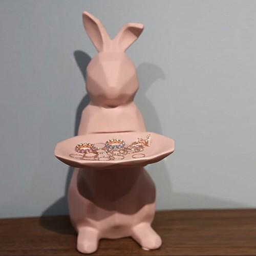 rabbit tray objet / ラビット トレー インテリア オブジェ アクセサリー うさぎ 韓国 北欧 雑貨