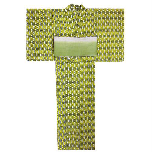 アフリカ布の浴衣 女物12 眼/ African Yukata for Women 12
