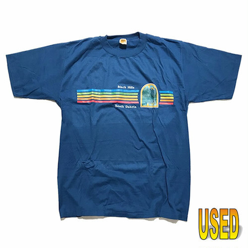 USED TEE ユーズド Tシャツ 『Velva Sheen』80年代 スーベニアTシャツ 【pru0029-blue】XL