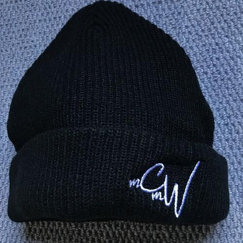 "New!!《送料込》McMamWell Emblem Knit Cap ""Black"""