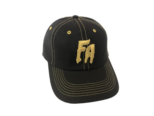 SEDUCTION OF THE WORLD STRAPBACK CAP(BLACK × GOLD) / FUCKING AWESOME
