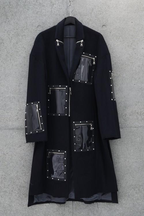 6 Frame Coat [Black]
