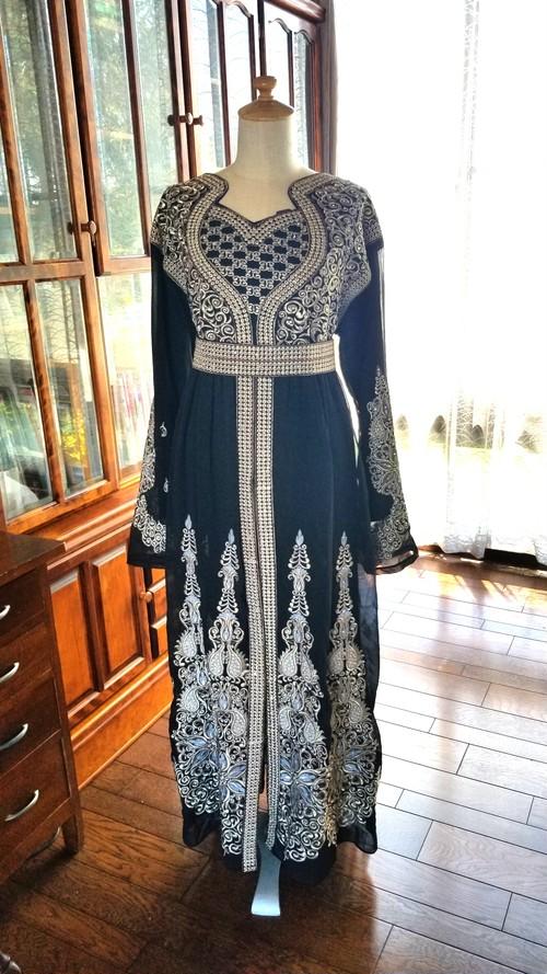 エジプト製ドレス【ブラック】