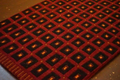 SQUARE DOT HANDMADE DOORMAT_01