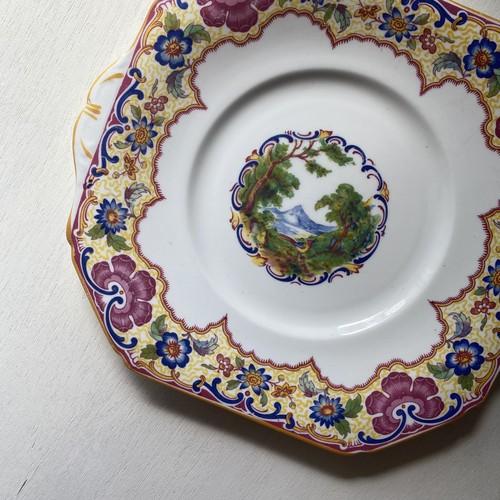富士山的フェニックスの皿