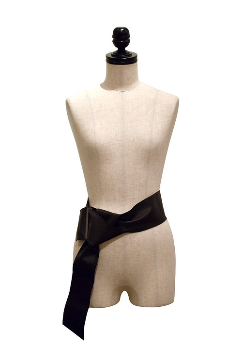 divka / Leather Belt / Black
