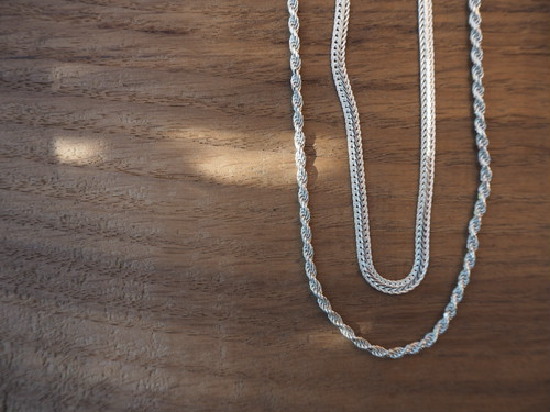 nejire chain necklace -silver925-