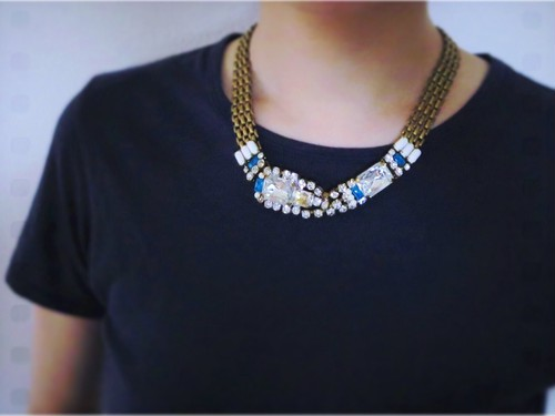 vintage necklace TQR <nc-TQRB2>