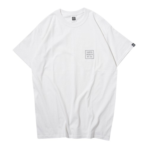 LOGO S/S TEE(WHITE)[TH9S-009]