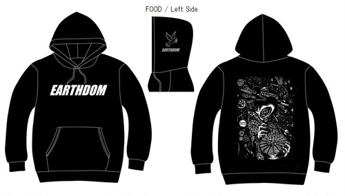 EARTHDOM / Hooded Pullover