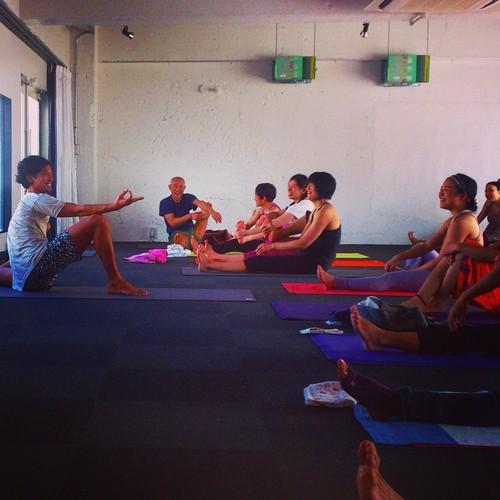 更科有哉 《Ashtanga Yogaを日常生活に活かして生きる》