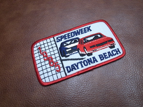 SPEEDWEEKS 1989 DAYTONA INTERNATIONAL SPEEDWAY VTG Patch