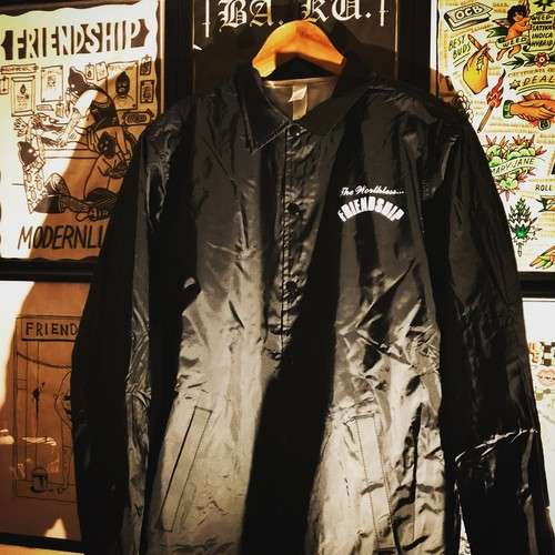 """""""HELL ON US"""" NYLON CORCH JACKET"""