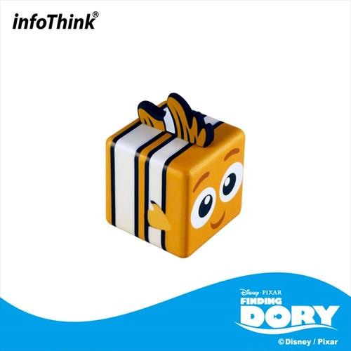 InfoThink USBメモリ Disney ファインディング・ドリー USBフラッシュドライブ 16GB ニモ IT-USB-100(QBNemo)16GB