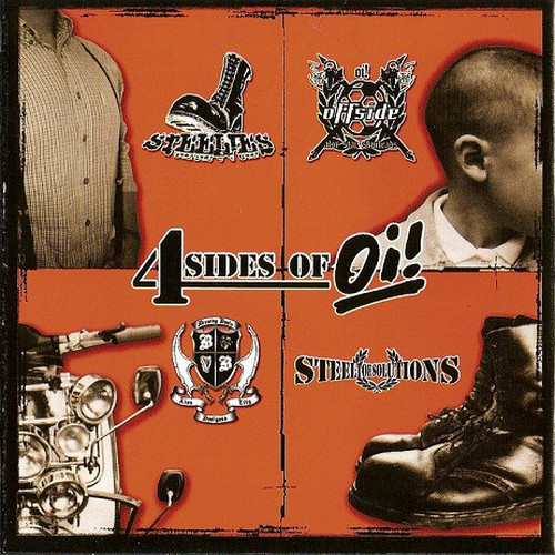 V.A - 4 SIDE OF Oi! CD