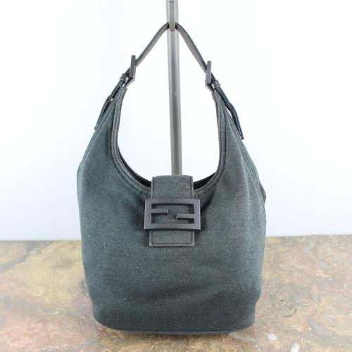 .FENDI LOGO HAND BAG MADE IN ITALY/フェンディマンマバケットハンドバッグ 2000000047744