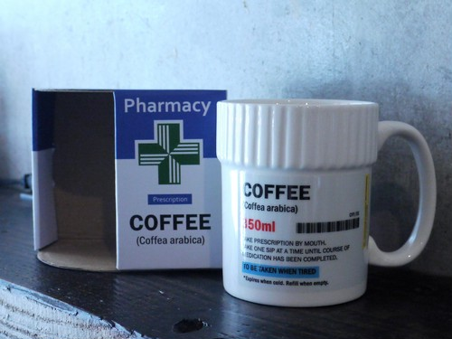 Pill Pot Mug - COFFEE