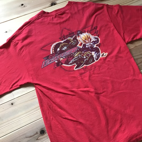 00's USA企画 Dragonball Z Tシャツ ベジータVSセル USED