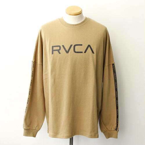【RVCA】 BIG RVCA LS (Dark Sand)