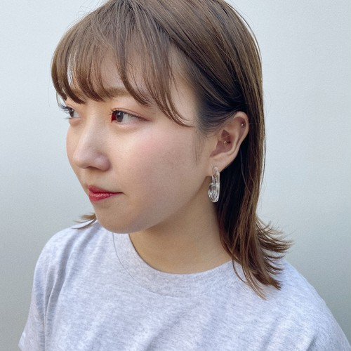 【20%OFF】〈ピアス〉clear beans ¥1,950→¥1,560
