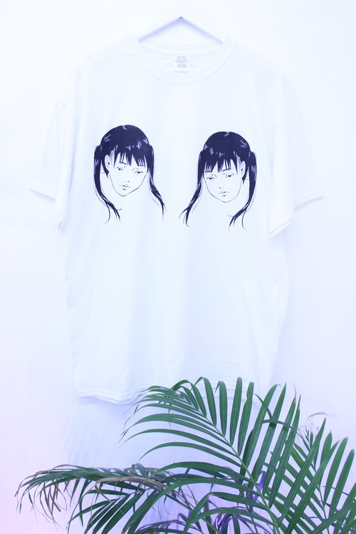【CITYGHOST】twin sad girl tee